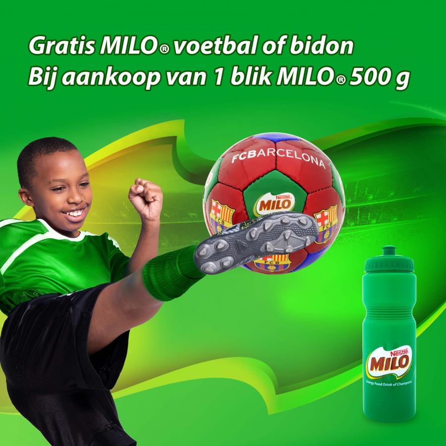 Milo actie