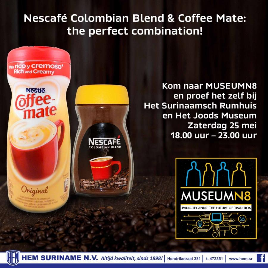 Nescafe Colombian Blend & Coffee Mate